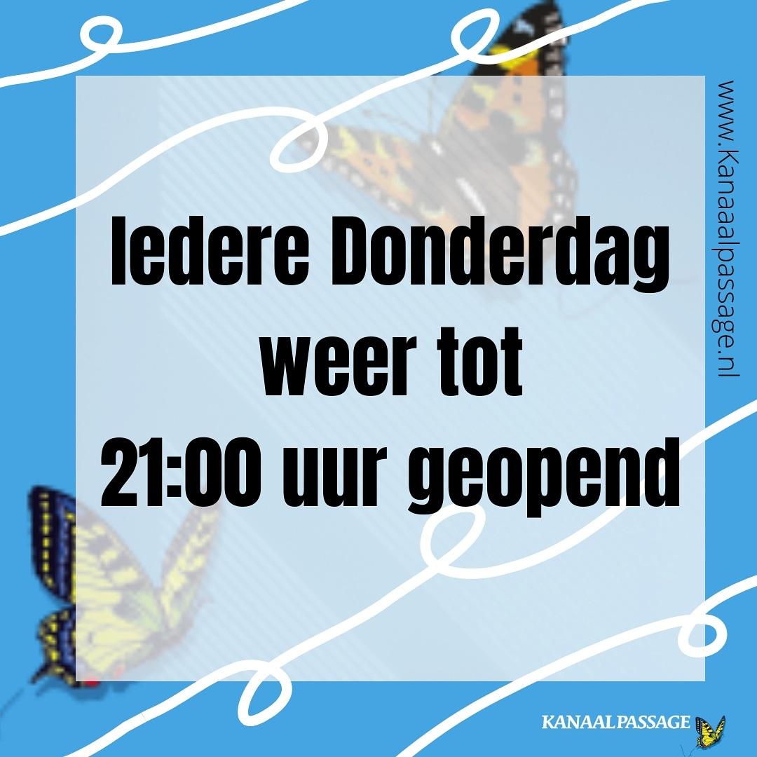 Koopavond Kanaalpassage in Stadskanaal geopend tot 21:00 uur